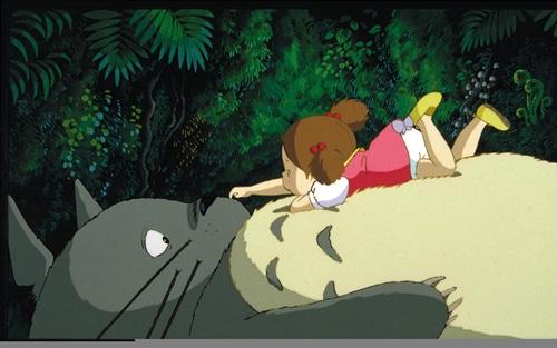 ฉากน่ารักๆ ใน Totoro การ์ตูน อนิเมชั่นค่าย Glibi