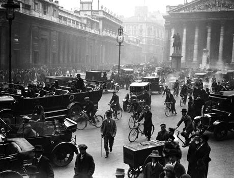 ภาพลอนดอนยุค 1920