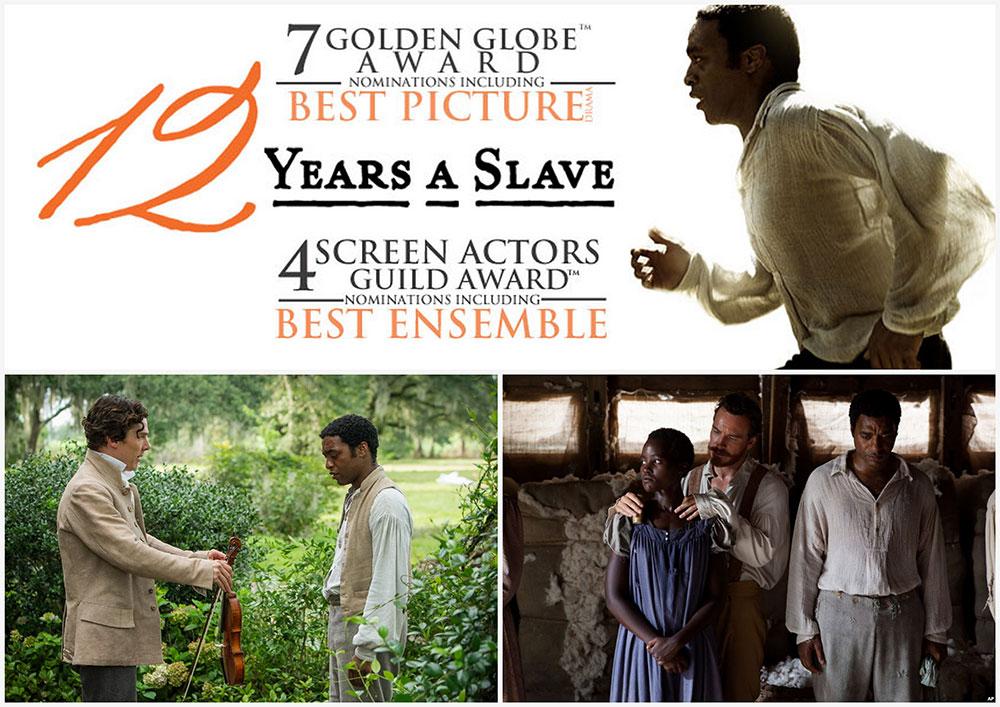 12 Years a Slave หนังดี หนังการันตีด้วยรางวัลคุณภาพ