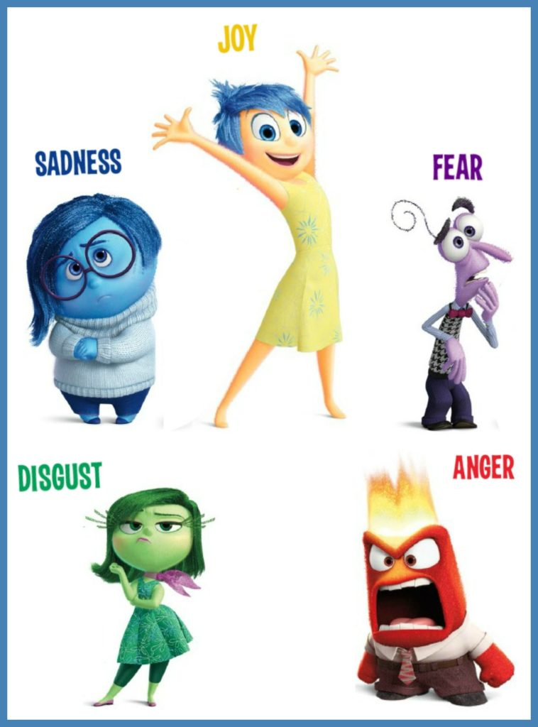 Characters Inside Out รีวิว