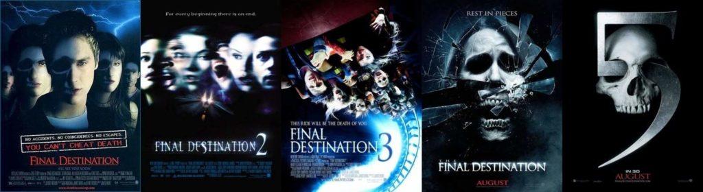 Final Destination หนังภาคต่อ 1-5