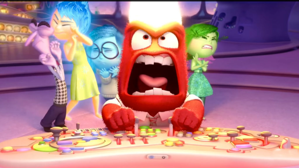 Anger รีวิว Inside Out