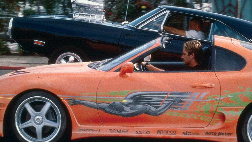 ฉากแข่งรถ ดอม กับ ไบรอัน