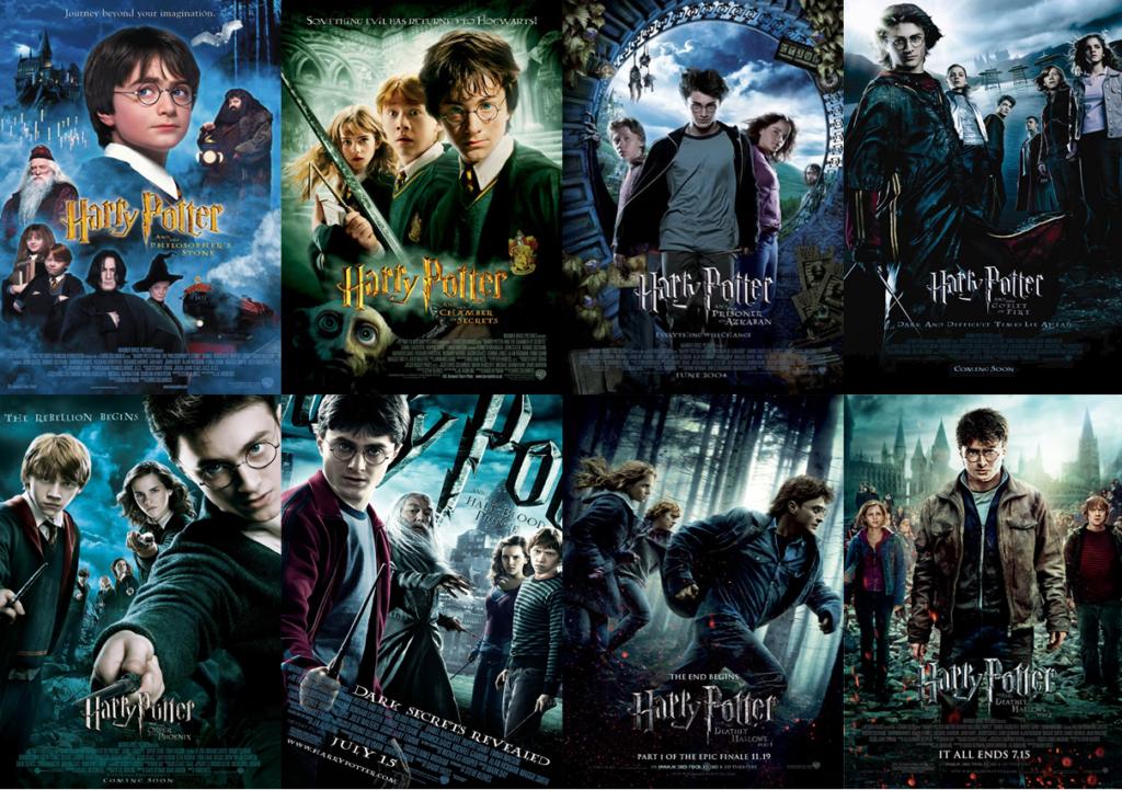 แนะนำ หนังภาคต่อ สุดยอดหนังที่คนดูยังคงกลับมาดูซ้ำมากที่สุด Harry Potter