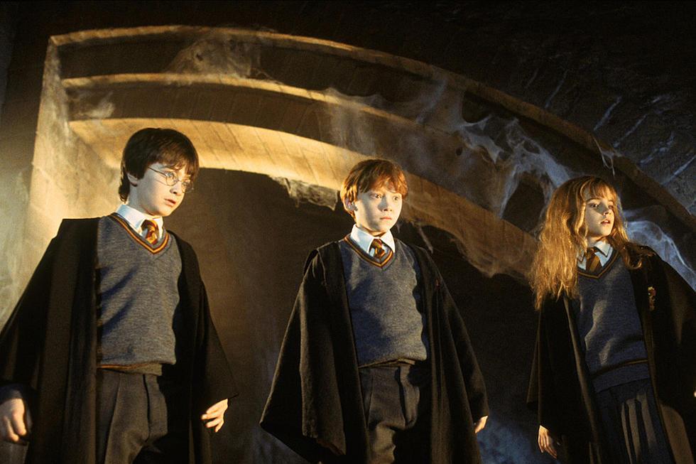 เเฮรี่ รอน และเฮอร์ไมโอนี่ จาก หนังภาคต่อ แฮรี่ พอตเตอร์