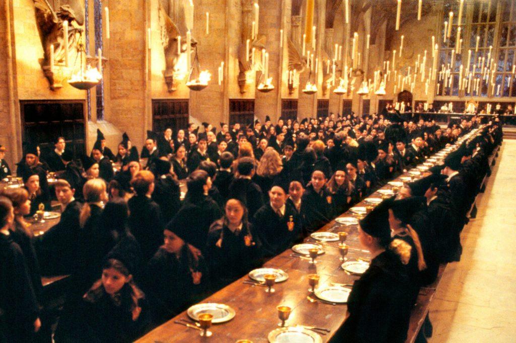 ห้องอาหาร ฮอกวอต์ แฮรี่ พ็อตเตอร์