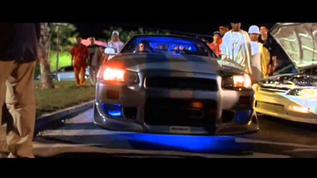 รถแข่ง Fast and Furious