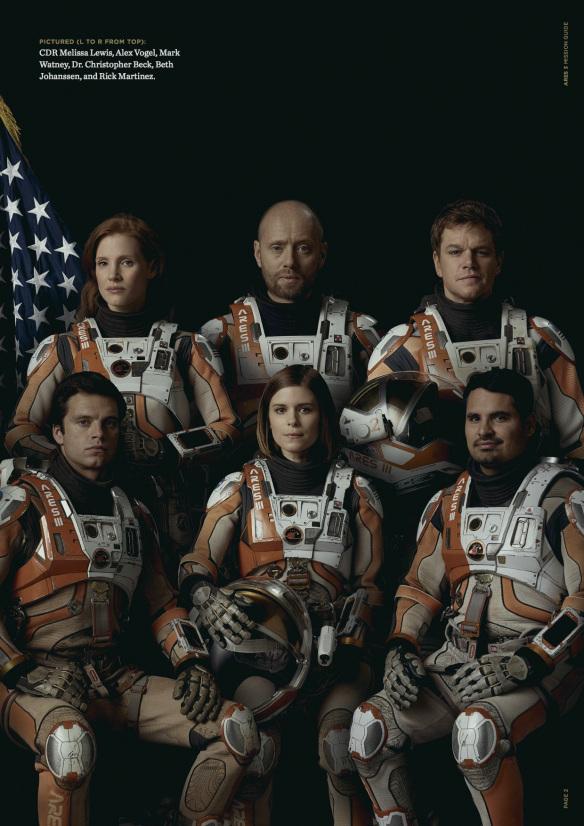 นักเเสดงนำจาก The Martian