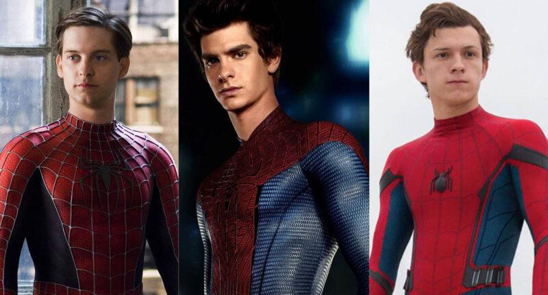 Spider man ทั้ง 3 คน